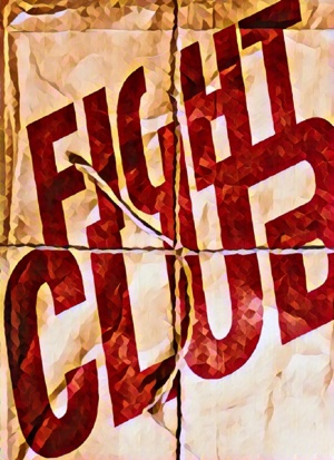 Fight Club artwork by Mister Gee