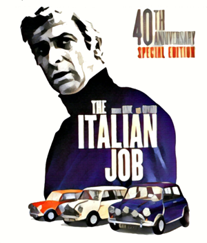 The Italian Job Artwork by Mister G