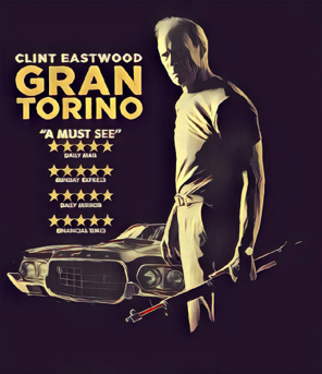 Gran Torino Artwork by Mister G