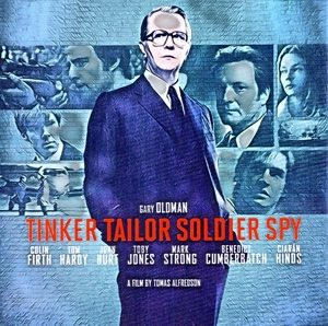 Tinker Tailor Soldier Spy Artwork by Mister Gee