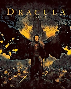 Dracula Untold artwork by Mister G