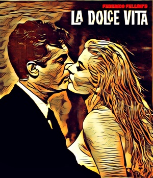 La Dolce Vita artwork by Mr G