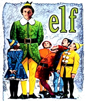 Elf artwork by Mister G
