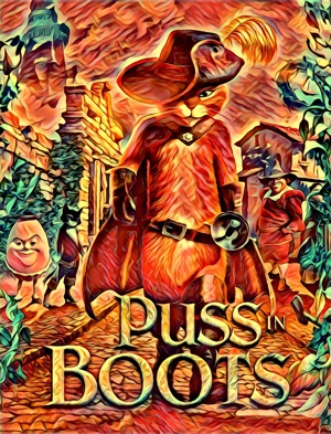 puss in boots artwork by Mister G