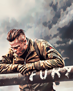 Fury artwork by Mister G