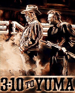 3 : 10 to Yuma - artwork by Mister G