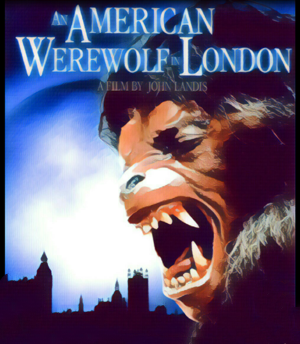 An American Werewolf in London Artwork by Mister G