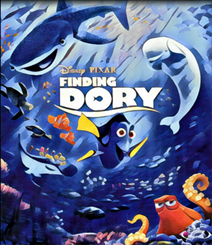 Finding Dory Artwork by Mister G