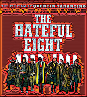 The Hateful Eight Artwork by Mister G
