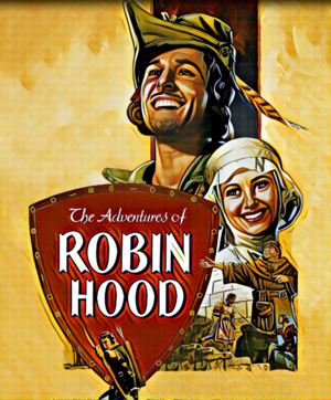 Robin Hood Artwork by Mister G
