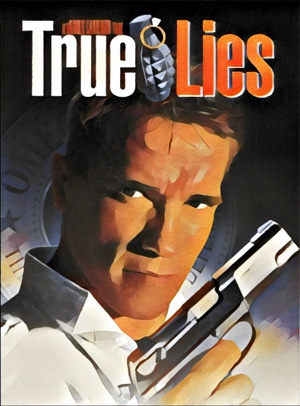 True Lies Artwork by Mister G