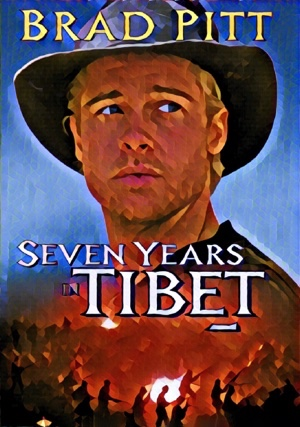 Seven Years in Tibet Artwork by Mister G