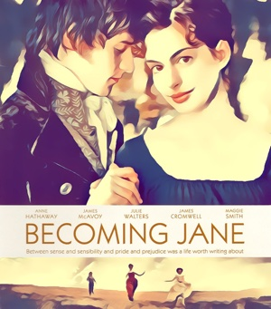 Becoming Jane Artwork by Mister G