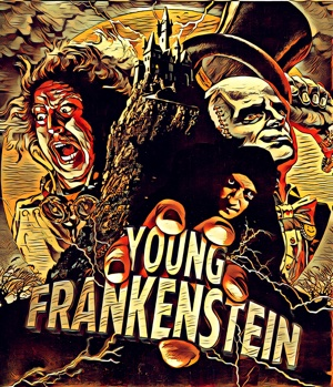 Young Frankenstein artwork by Mister Gee