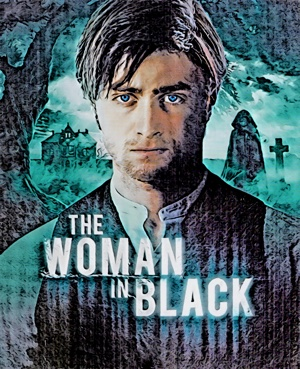 WOMAN IN BLACK ARTWORK BY MISTER GEE