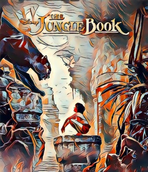 Jungle Book (2016) Artwork by Mister G