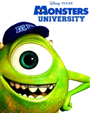 Monsters University artwork by Mister G