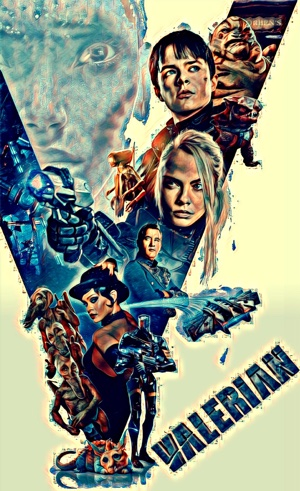 Valerian Artwork by Mister G
