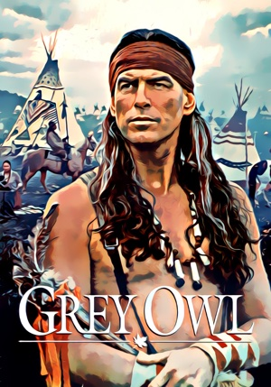 Grey Owl artwork by Mister G