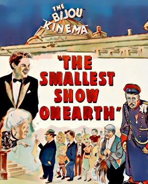 The Smallest Show on Earth artwork by Mister G
