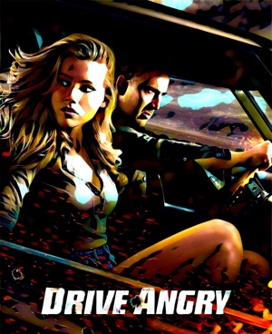 Drive Angry - Artwork by Mister G