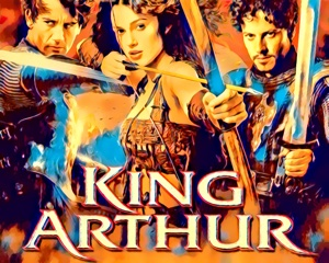 King Arthur - artwork by Mister G